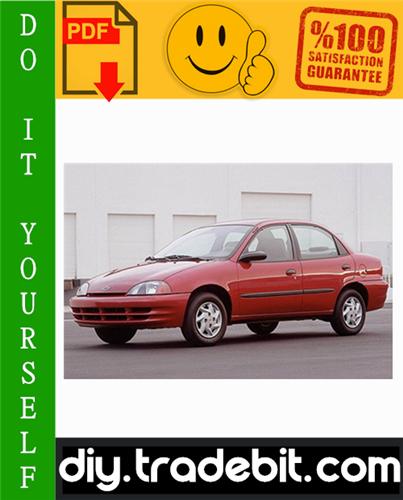 Thumbnail Chevy Chevrolet Metro Service Repair Manual 1998-2001 Download