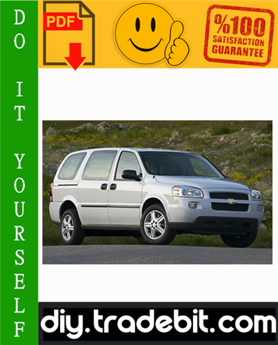 Thumbnail Chevy Chevrolet Uplander Service Repair Manual 2005-2008 Download