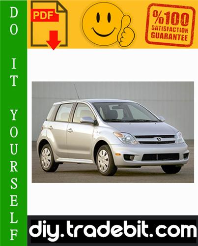 Thumbnail Scion xA xB tC Service Repair Manual 2004-2007 Download