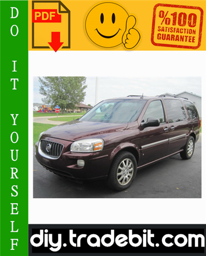 Thumbnail Buick Terraza Service Repair Manual 2005-2007 Download