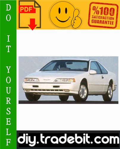 Thumbnail Ford Thunderbird Service Repair Manual 2002-2005 Download