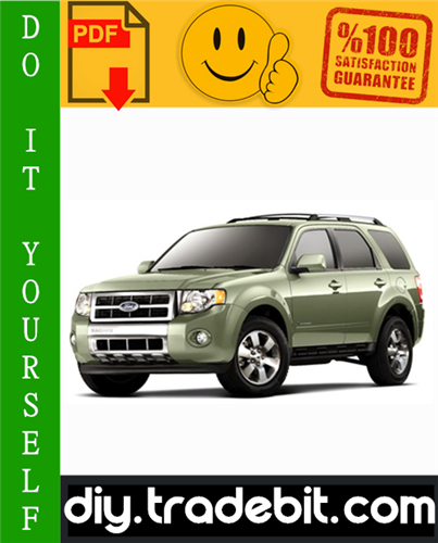 Thumbnail Ford Escape Hybrid Service Repair Manual 2005-2008 Download