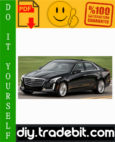 Thumbnail Cadillac CTS / CTS-V Service Repair Manual 2008-2009 Download