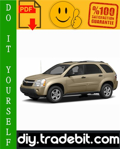 Thumbnail Chevy Chevrolet Equinox Service Repair Manual 2005-2008 Download