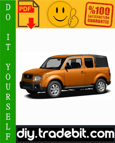 Thumbnail Honda Element Service Repair Manual 2003-2008 Download