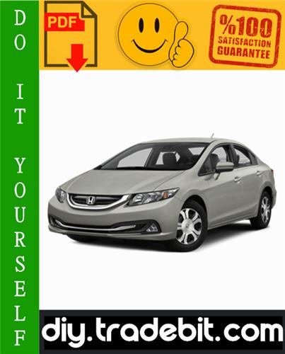 Thumbnail Honda Civic Hybrid Service Repair Manual 2003-2005 Download