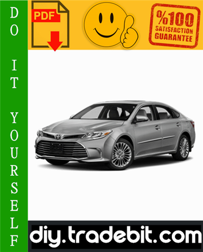 Thumbnail Toyota Avalon Service Repair Manual 2000-2004 Download