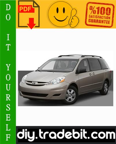 Thumbnail Toyota Sienna Service Repair Manual 2004-2008 Download