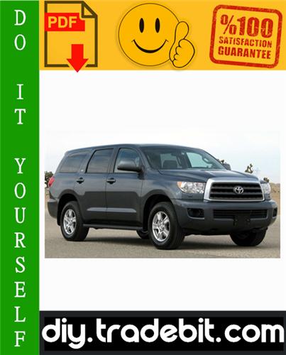 Thumbnail Toyota Sequoia Service Repair Manual 2001-2007 Download