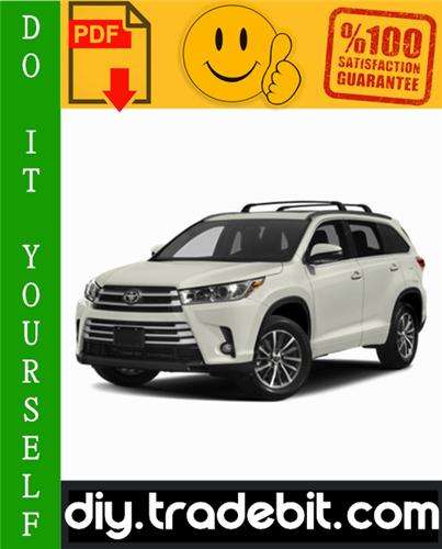 Thumbnail Toyota Highlander Service Repair Manual 2001-2007 Download