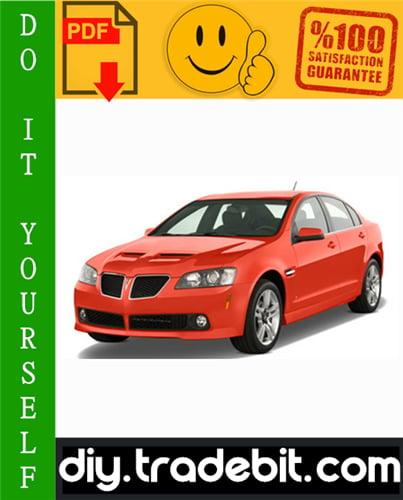 Thumbnail Pontiac G8 Service Repair Manual 2008-2009 Download
