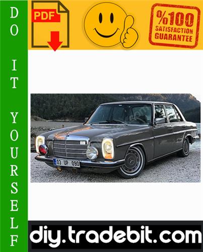 Thumbnail Mercedes-Benz W114 / W115 Service Repair Manual 1968-1976 Download