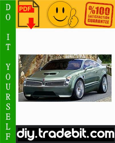 Thumbnail Pontiac GTO Service Repair Manual 2004-2006 Download
