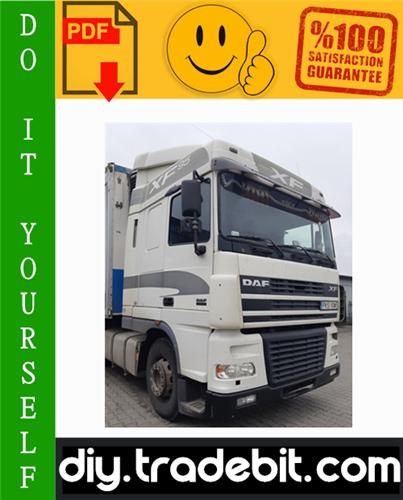Thumbnail Daf 95XF Series Truck Service Repair Manual Download