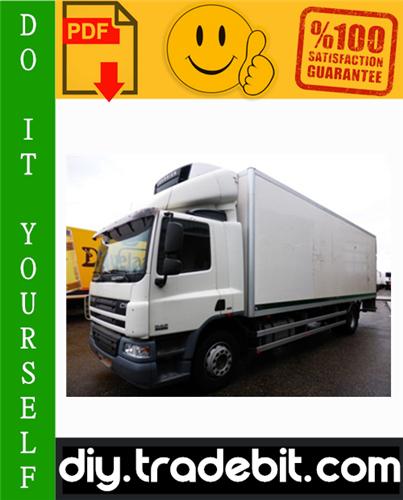 Thumbnail Daf CF65, CF75, CF85 Series Truck Service Repair Manual Download