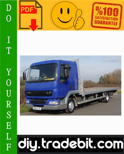 Thumbnail Daf LF45, LF55 Series Truck Service Repair Manual Download