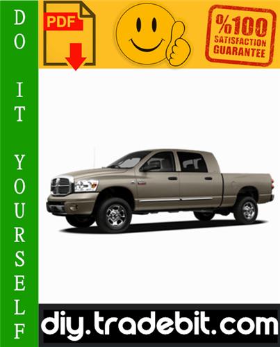 Thumbnail 2008 Dodge Ram Truck Service Repair Manual Download