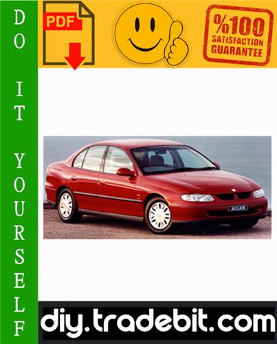 Thumbnail Holden Commodore VT VX VY VU Series Service Repair Manual 1997-2004 Download