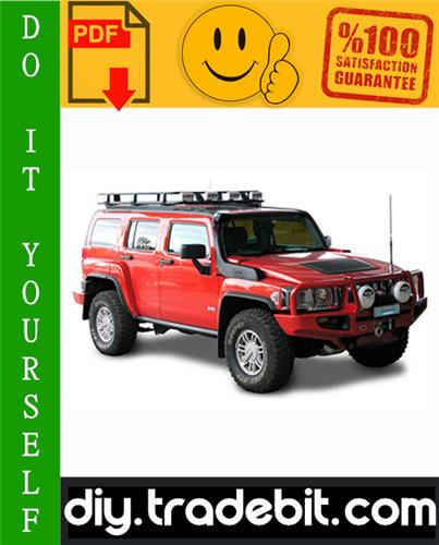 Thumbnail GM Hummer H3 Service Repair Manual 2006-2009 Download