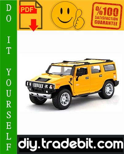 Thumbnail GM Hummer H2 Service Repair Manual 2003-2007 Download