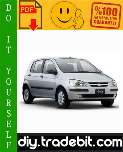 Thumbnail Hyundai Getz Service Repair Manual 2002-2005 Download