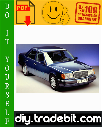 Thumbnail Mercedes-Benz Model 124 Series Sedan/Coupe/Wagon Service Repair Manual Download