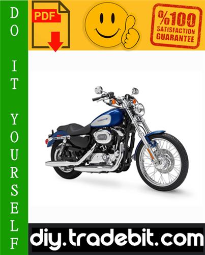 Thumbnail 2010 Harley Davidson Sportster Motorcycle Service Repair Manual Download
