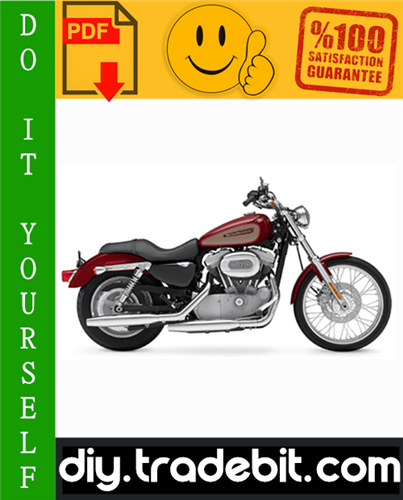 Thumbnail Harley Davidson Sportster Motorcycle Service Repair Manual 2004-2006 Download