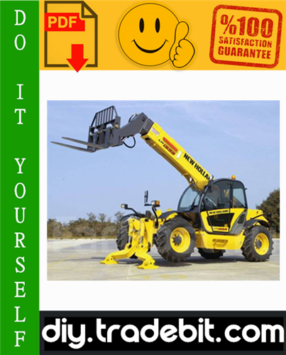 Thumbnail New Holland LM1340 Turbo, LM1343 Turbo, LM1345 Turbo, LM1443 Turbo, LM1445 Turbo, LM1745 Turbo Telescopic Handlers Service Repair Manual Download