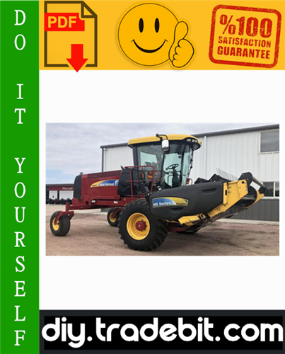 Thumbnail New Holland H8040 Self-Propelled Windrower Service Repair Manual Download