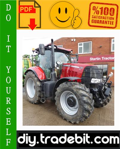 Thumbnail Case IH PUMA 165 CVX, PUMA 180 CVX, PUMA 195 CVX, PUMA 210 CVX, PUMA 225 CVX Tractors Service Repair Manual Download