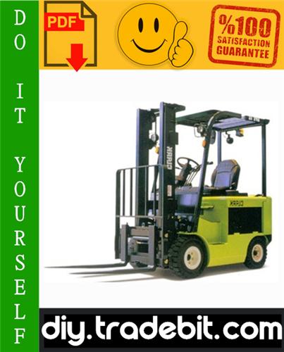 Thumbnail Clark SF20D, SF25D, SF30D, SF20L, SF25L, SF30L, SF20G, SF25G, SF30G, CMP20D, CMP25D, CMP30D, CMP20L, CMP25L, CMP30L, CMP20G, CMP25G, CMP30G Forklift Trucks Service Repair Manual Download