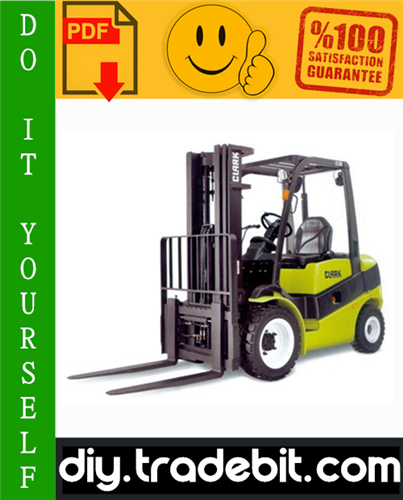 Thumbnail Clark GPX 30, GPX 35, GPX 40, GPX 40S, GPX 50, GPX 55, DPX 30, DPX 35, DPX 40, DPX 40S, DPX 50, DPX 55 Forklift Service Repair Manual Download
