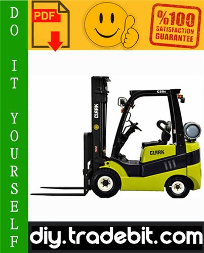 Thumbnail Clark CMP 15, CMP 18, CMP 20, CMP 25, CMP 30 Forklift Service Repair Manual Download