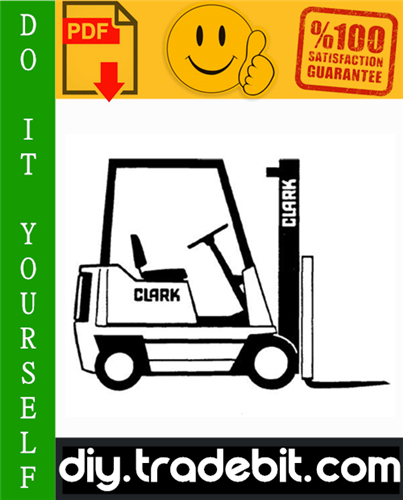 Thumbnail Clark PTT 5/7 Forklift Service & Adjustment Manual Download