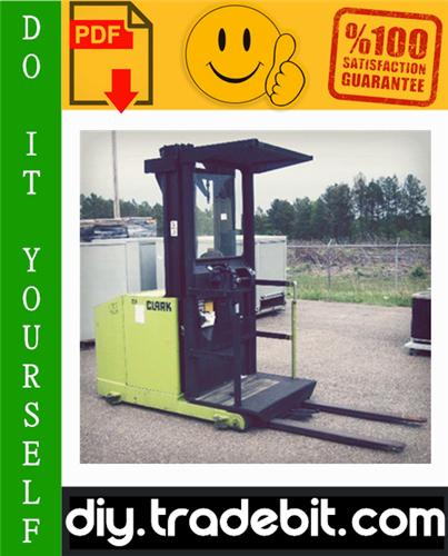 Thumbnail Clark OP15 Forklift Service Repair Manual Download