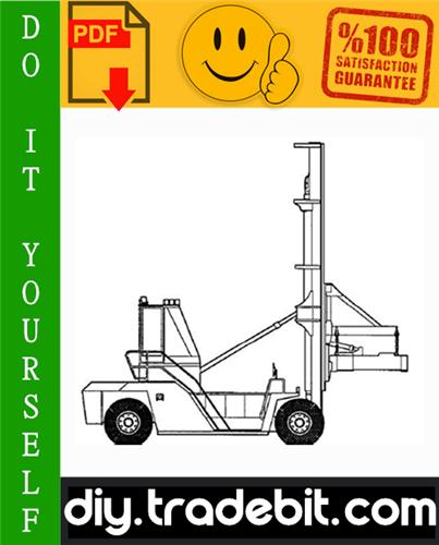 Thumbnail Clark C500 Y 950 Container Handler Truck Service Repair Manual Download