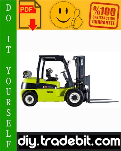 Thumbnail Clark GPH 50, GPH 60, GPH 70, GPH 75, DPH 50, DPH 60, DPH 70, DPH 75 Forklift Service Repair Manual Download