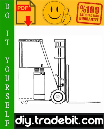 Thumbnail Clark ESM 12, ESM 25 Forklift Service Repair Manual Download