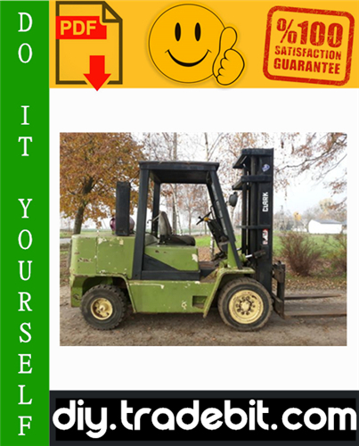 Thumbnail Clark GPX 35, GPX 40, GPX 50E Forklift Service Repair Manual Download