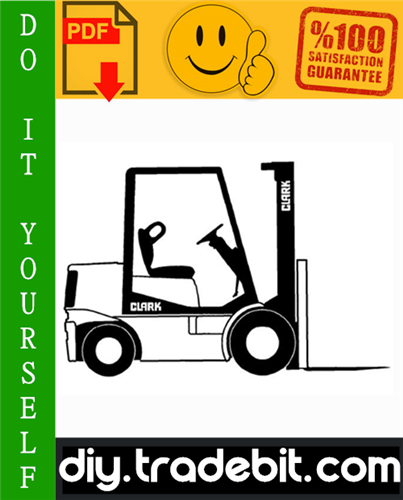 Thumbnail Clark G127, GP127, GL27E, GPL27E Forklift Service Repair Manual Download