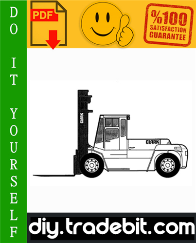 Thumbnail Clark CDP 100, CDP 164 Forklift Service Repair Manual Download