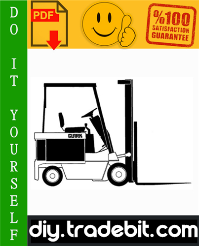 Thumbnail Clark EC 90, EC 120 Forklift Service Repair Manual Download