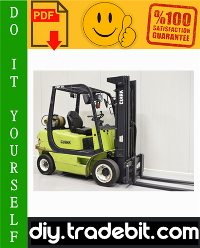 Thumbnail Clark CMP 40, CMP 45, CMP 50S Forklift Service Repair Manual Download