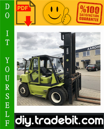 Thumbnail Clark CMP 50, CMP 60, CMP 70 Forklift Service Repair Manual Download