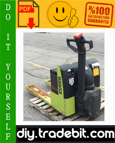 Thumbnail Clark WP45 Forklift Service Repair Manual Download