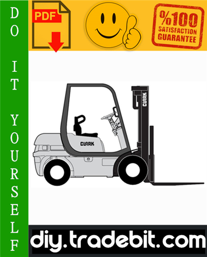 Thumbnail Clark CMP15L, CMP18L, CMP20SL, CMP15D, CMP18D, CMP20SD Forklift Trucks Service Repair Manual Download