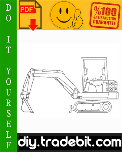 Thumbnail Bobcat X56, X76 Excavator Service Repair Manual Download