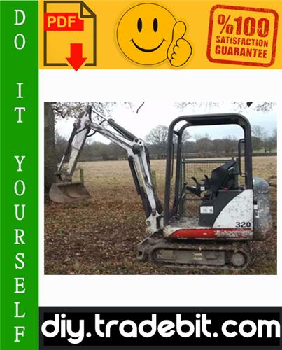 Thumbnail Bobcat X320, X322 Excavator Service Repair Manual Download (S/N: 562313001 & Above, S/N: 517811001 & Above)