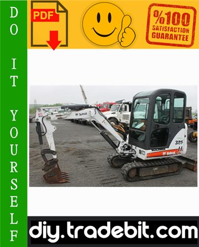 Thumbnail Bobcat X325, X328 Excavator Service Repair Manual Download